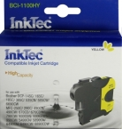 Картридж InkTec для Brother BCI-1100HY Yellow