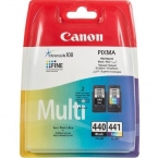 Картридж струйный Canon для Pixma MG2140/MG3140, PG-440/CL-441 Black/Color (5219B005) Multipack КОМПЛЕКТ